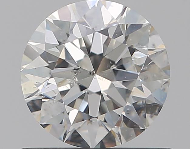 0.59 ct Round Diamond : H / SI2