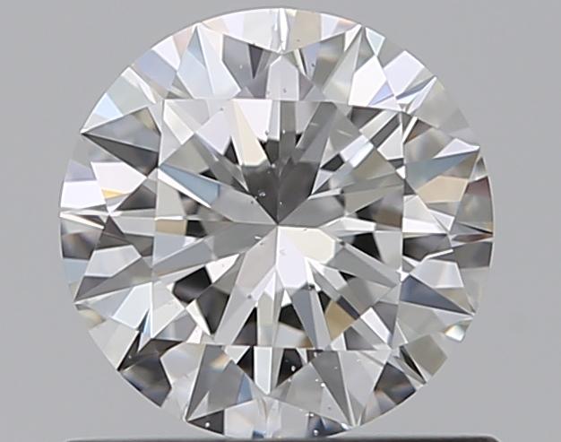 0.58 ct Round Diamond : E / SI1