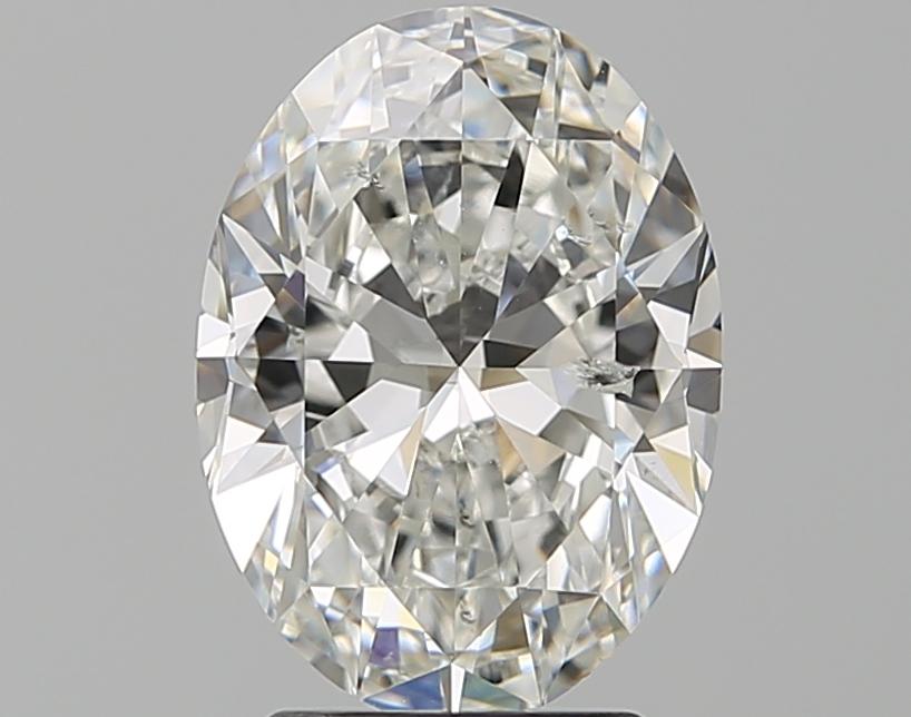 2.51 ct Oval Diamond : G / SI2