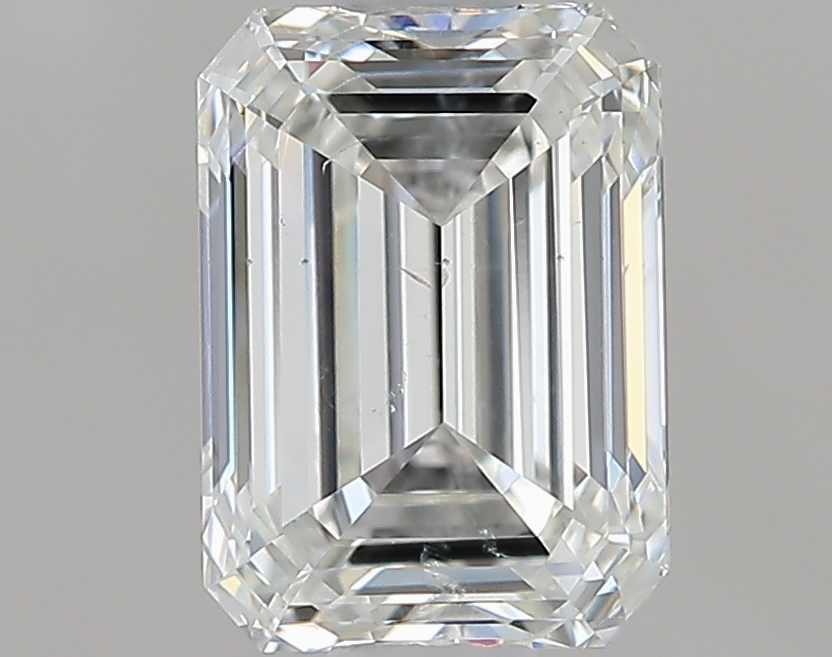 1.00 ct Emerald Cut Diamond : H / SI1