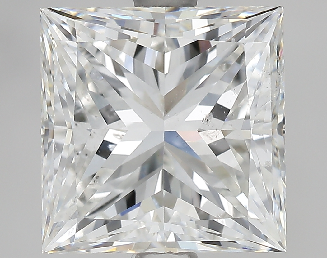 3.20 ct Princess Cut Diamond : G / SI2