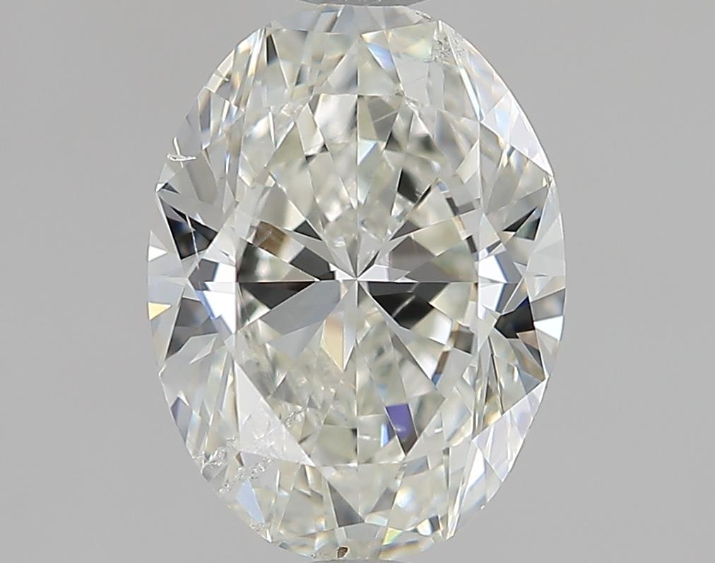 1.40 ct Oval Diamond : J / SI2