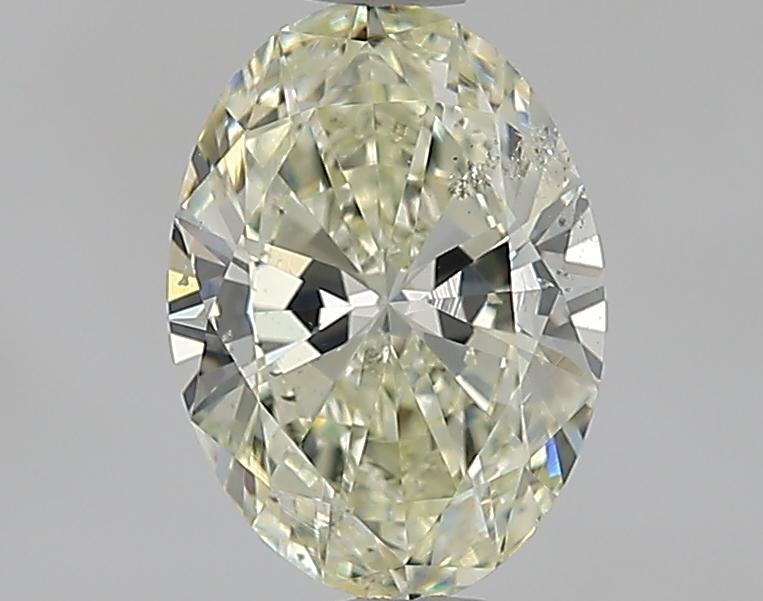 1.29 ct Oval Diamond : M / SI2