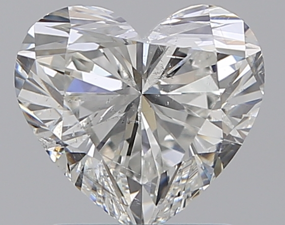1.29 ct Heart Shape Diamond : H / SI2