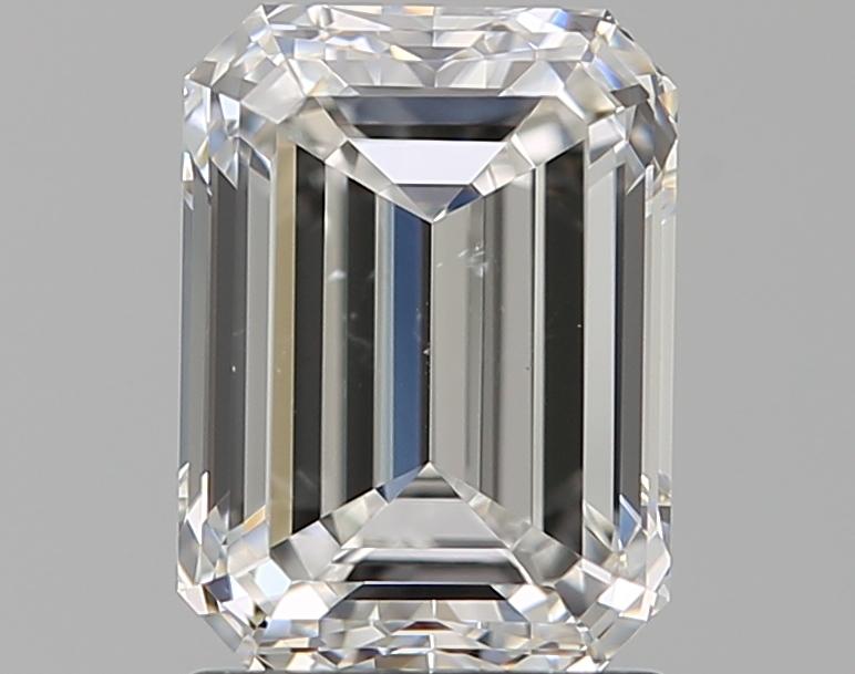1.70 ct Emerald Cut Diamond : F / SI1