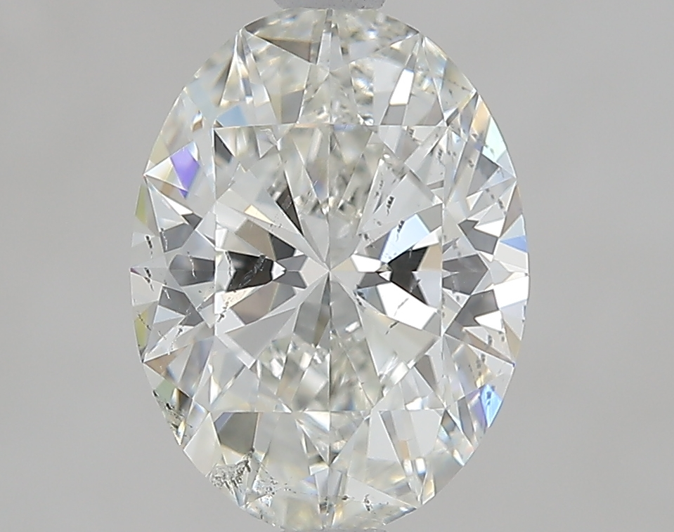 1.79 ct Oval Diamond : H / SI1