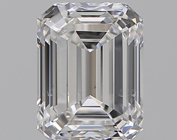 0.59 ct Emerald Cut Diamond : E / SI1