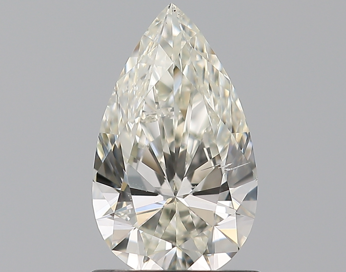 0.90 ct Pear Shape Diamond : J / SI1