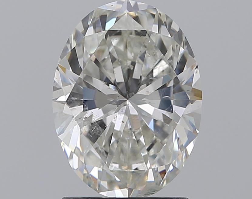 1.51 ct Oval Diamond : H / SI2