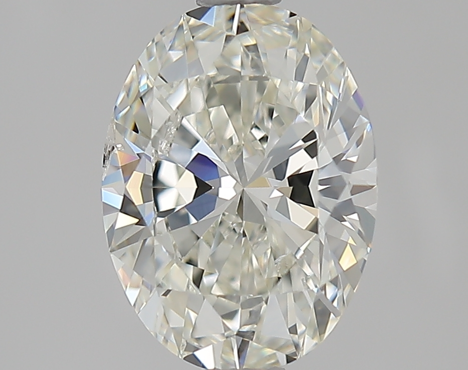 1.70 ct Oval Diamond : I / SI2