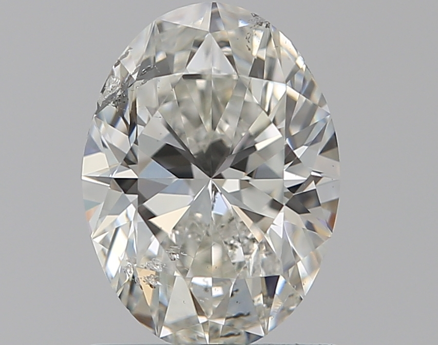 0.90 ct Oval Diamond : H / SI2