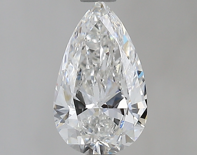 0.96 ct Pear Shape Diamond : F / SI2