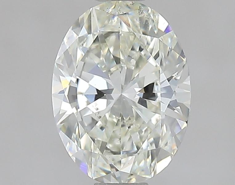 0.90 ct Oval Diamond : J / SI1