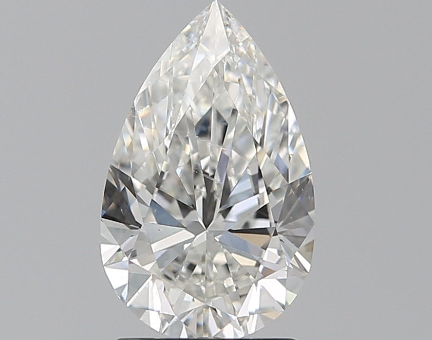 1.51 ct Pear Shape Diamond : G / SI1