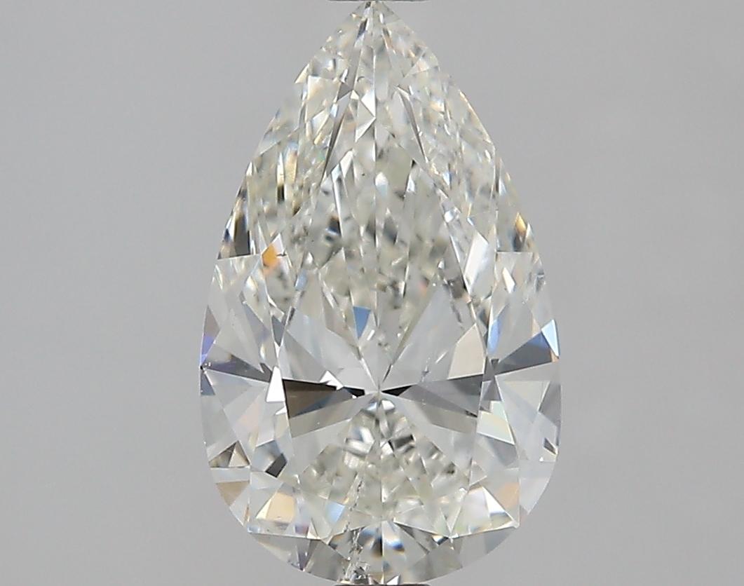 2.01 ct Pear Shape Diamond : I / SI1