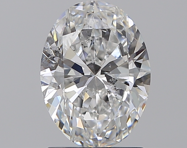 1.20 ct Oval Diamond : E / SI2