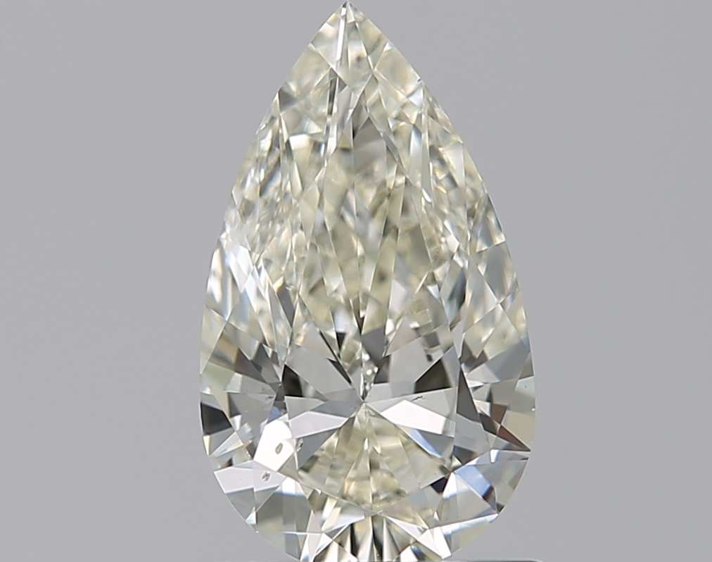 0.90 ct Pear Shape Diamond : K / SI1