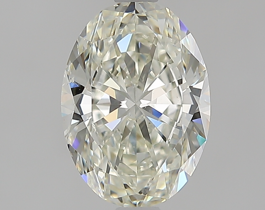 1.70 ct Oval Diamond : J / SI1