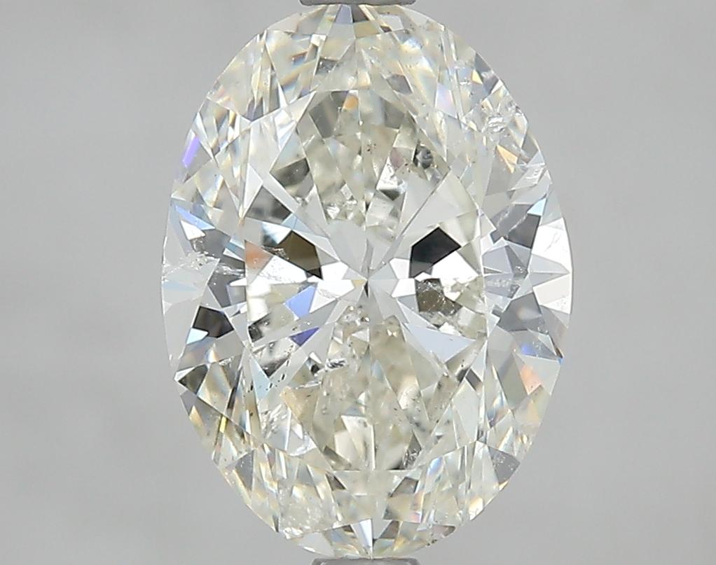 2.50 ct Oval Diamond : K / SI2