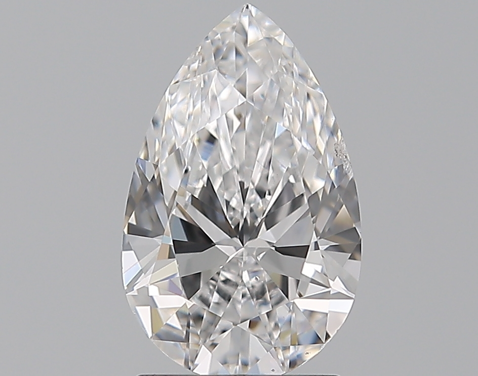 1.50 ct Pear Shape Diamond : D / SI1