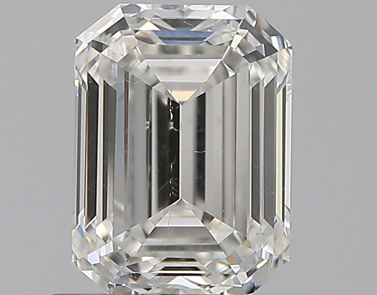 0.72 ct Emerald Cut Diamond : F / SI1