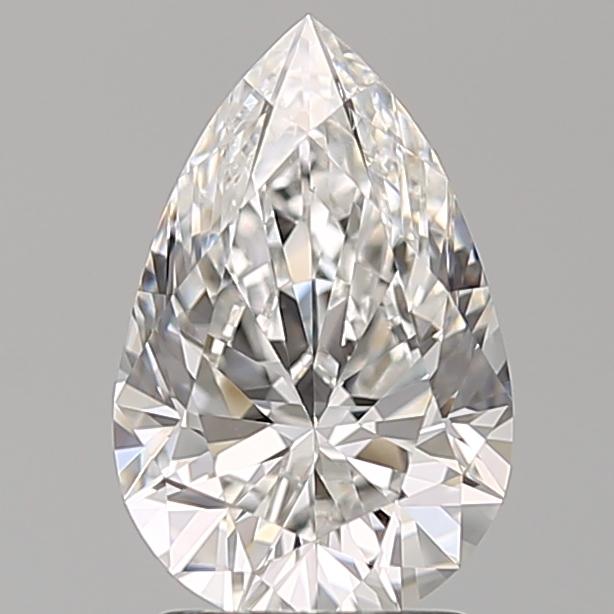 2.04 ct Pear Shape Diamond : E / VS2