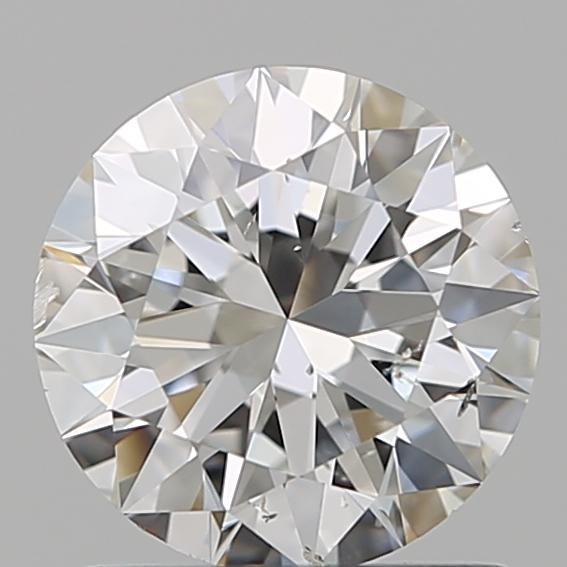 0.90 ct Round Diamond : F / SI1