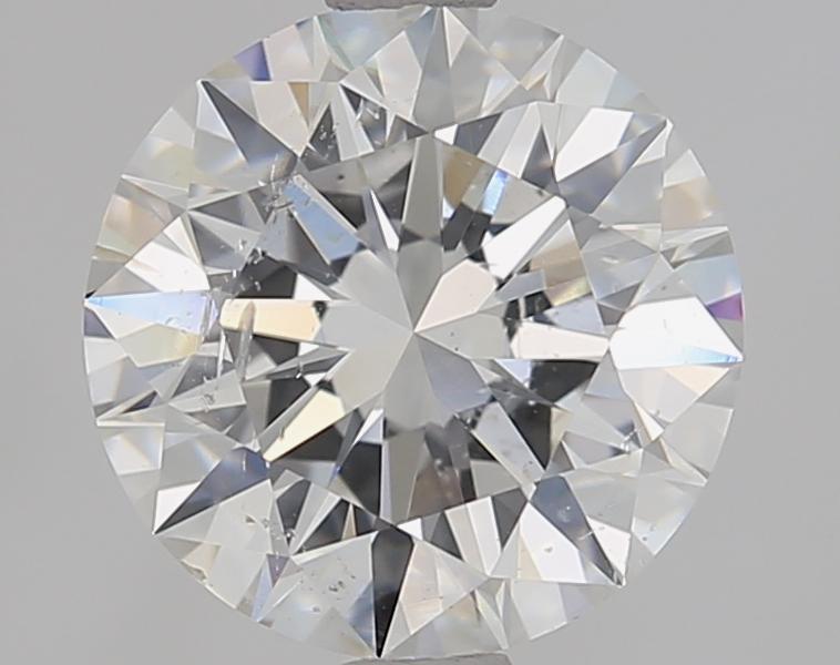 2.01 ct Round Diamond : F / SI2