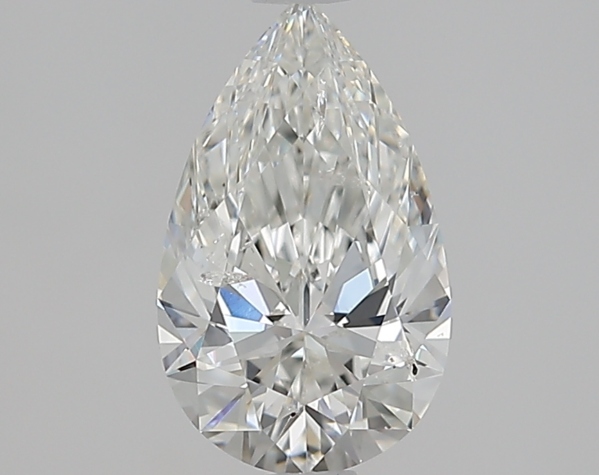 1.21 ct Pear Shape Diamond : H / SI2