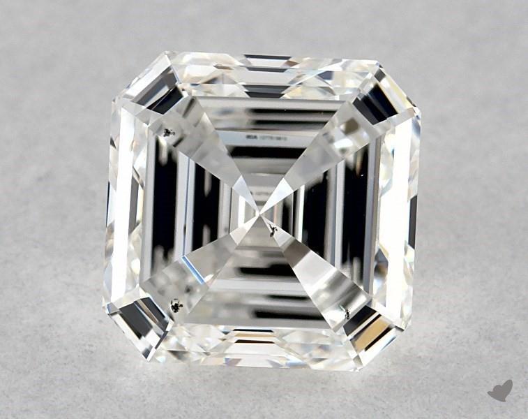 1.01 ct Asscher Cut Diamond : F / VS2