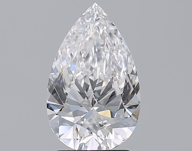2.00 ct Pear Shape Diamond : D / SI1
