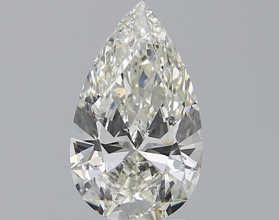 2.01 ct Pear Shape Diamond : J / SI1
