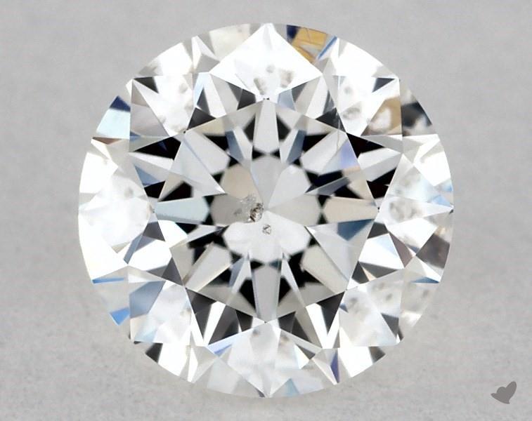 0.40 ct Round Diamond : E / SI2