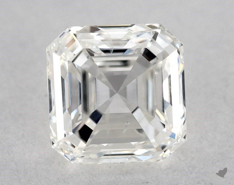 0.60 ct Asscher Cut Diamond : G / SI2