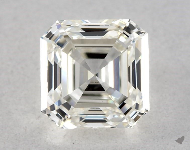 0.51 ct Asscher Cut Diamond : J / VVS1