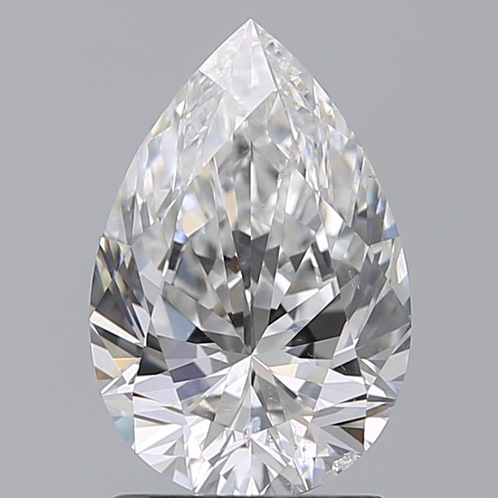 1.51 ct Pear Shape Diamond : F / SI1
