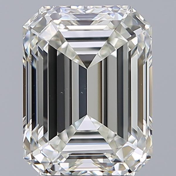 3.01 ct Emerald Cut Diamond : I / VS1