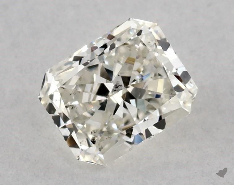 0.51 ct Radiant Diamond : J / SI1
