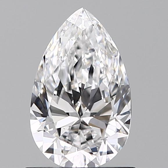 0.73 ct Pear Shape Diamond : D / VS1