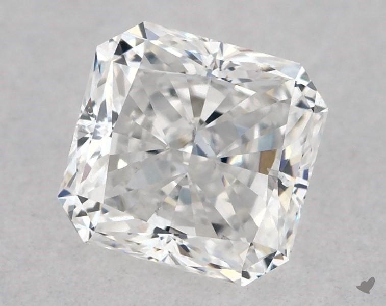 0.51 ct Radiant Diamond : E / SI1