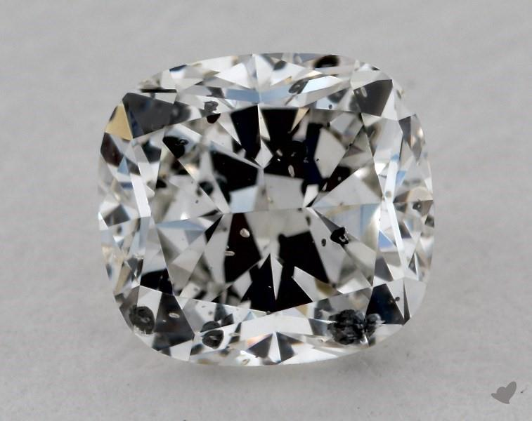 0.72 ct Cushion Cut Diamond : H / I1
