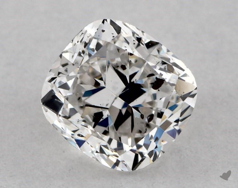 0.61 ct Cushion Cut Diamond : F / SI2