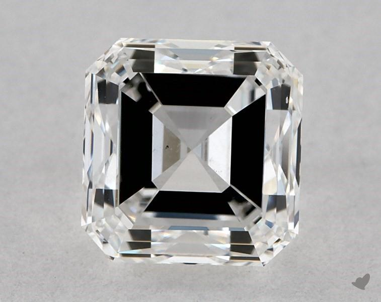 1.01 ct Asscher Cut Diamond : E / VS2