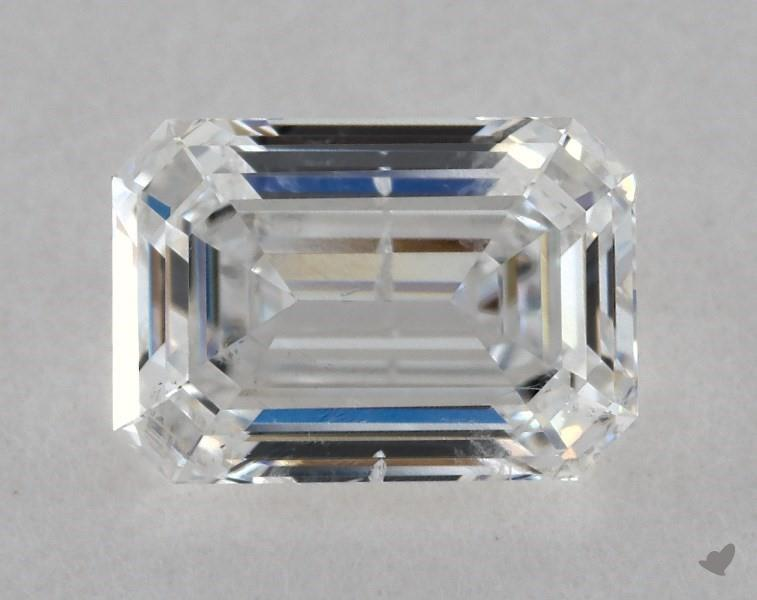 0.80 ct Emerald Cut Diamond : E / SI2