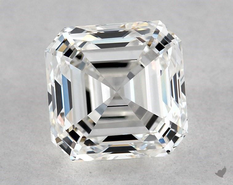 0.83 ct Asscher Cut Diamond : G / VVS1