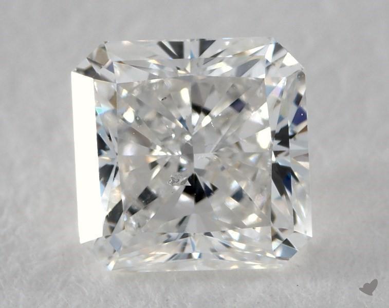 1.01 ct Radiant Diamond : E / SI2