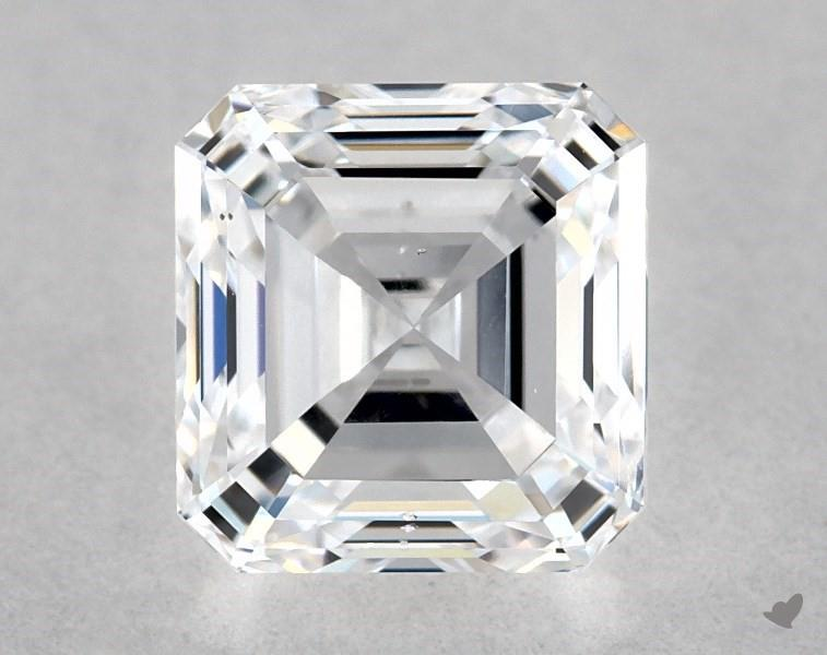 1.01 ct Asscher Cut Diamond : D / SI1