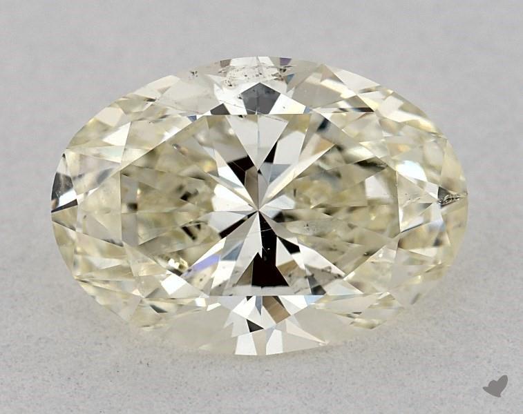 1.52 ct Oval Diamond : M / SI2