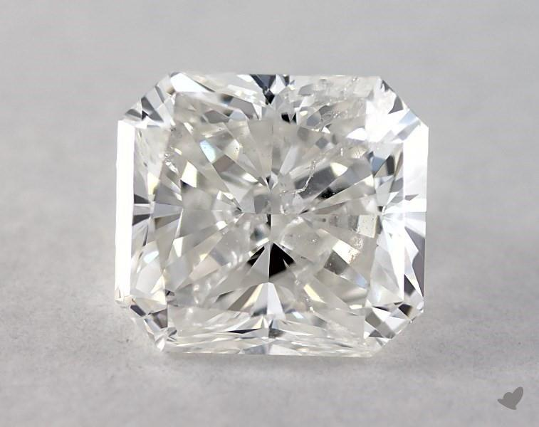 1.00 ct Radiant Diamond : G / I1