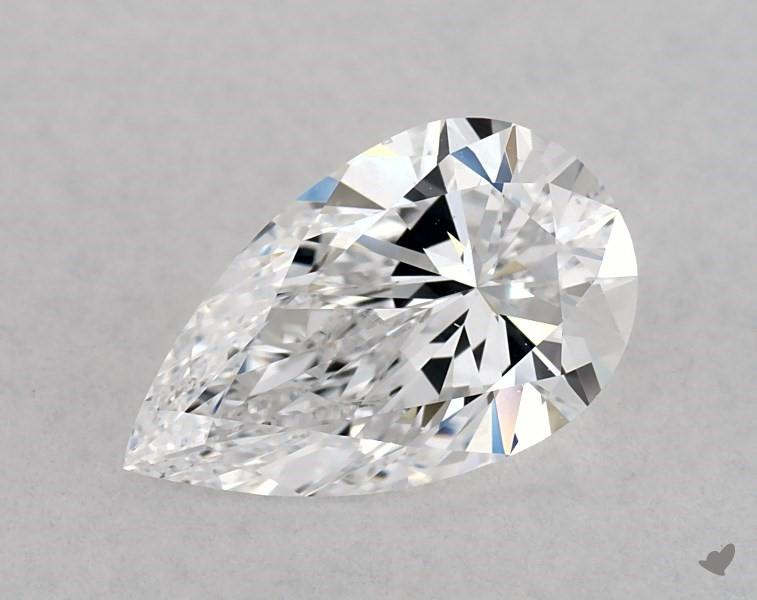1.01 ct Pear Shape Diamond : D / VS2